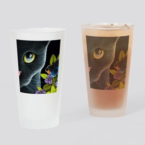 Cat 557 Drinking Glass